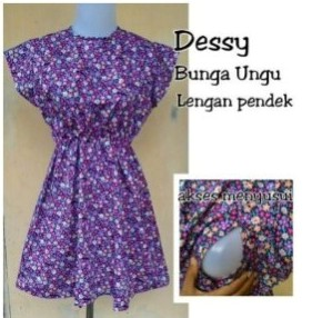 azzafran for mommy dress pendek